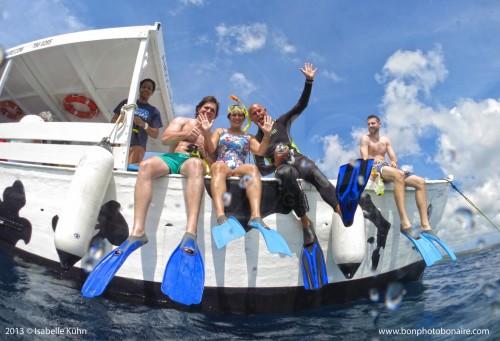sea cow snorkel bonaire
