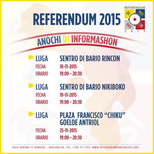 Informatieavond Referendum 2015