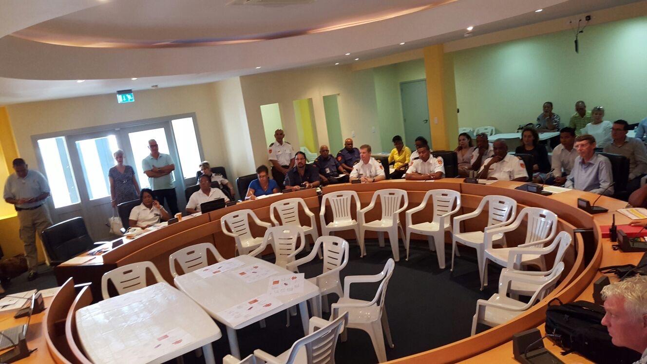 Organisaties trainen samenwerking rampenbestrijding