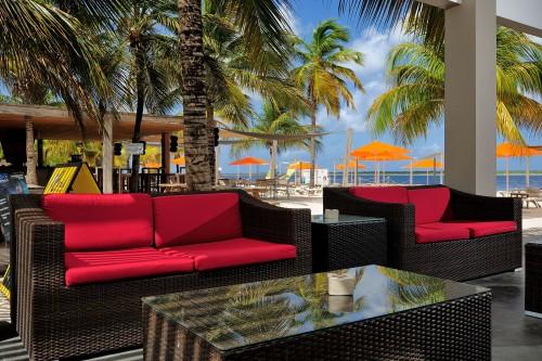 Spice Beach Club area