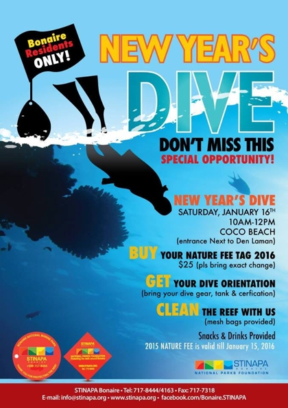 new years dive