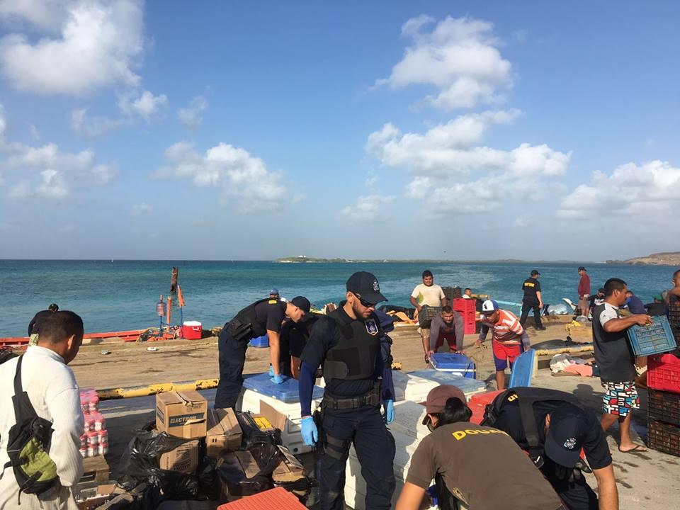 Intensieve kustwachtoperaties bij Aruba, Curaçao en Bonaire