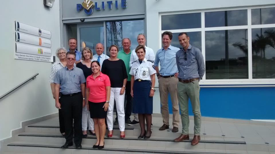 Brancheorganisatie van Bonaire, bestuur, politie en Openbaar Ministerie slaan de handen ineen tegen criminaliteit in het bedrijfsleven