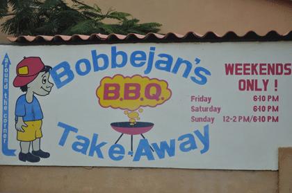 Bobbejan Bonaire restaurant