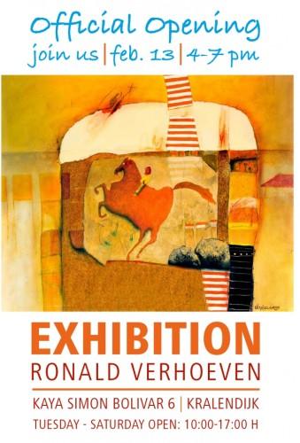 kunstenaar Ronald Verhoeven.