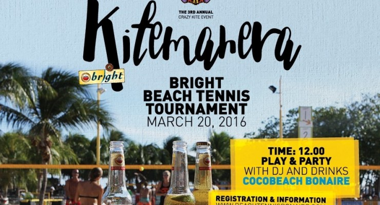 Amstel Bright Beach Tennis Tournament op 20 maart