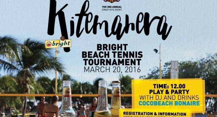 Amstel Bright Beach Tennis Tournament op 20 maart