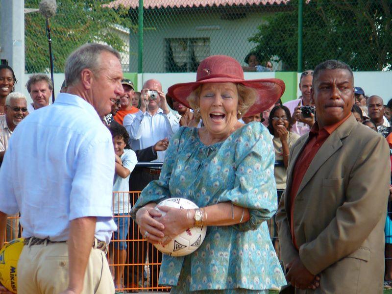 2 nieuwe Cruyff Courts voor Bonaire