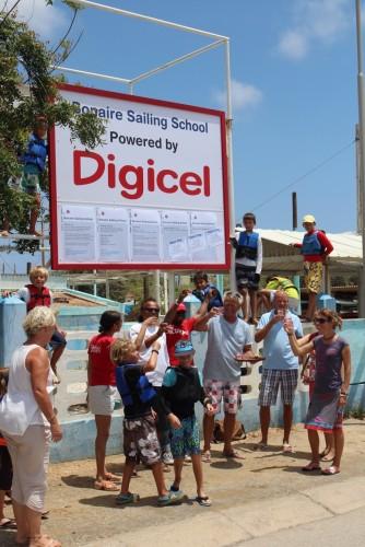 Zeilschool digicel sponsoring