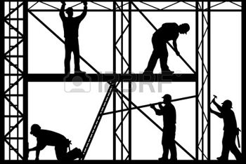 Arbeidsinspectie geeft voorlichting bij bouw San Luis Beltran school Rincon