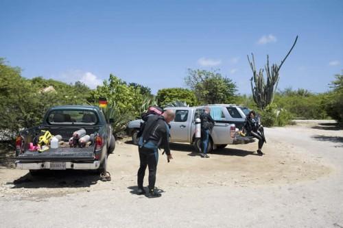 Diefstal uit voertuigen op duiklocaties