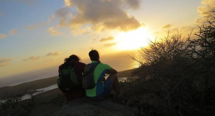 brandaris sunset hike