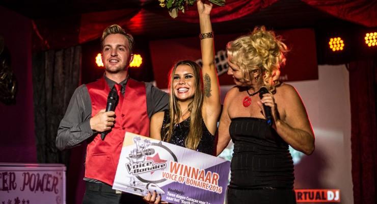 winnaar voice of bonaire