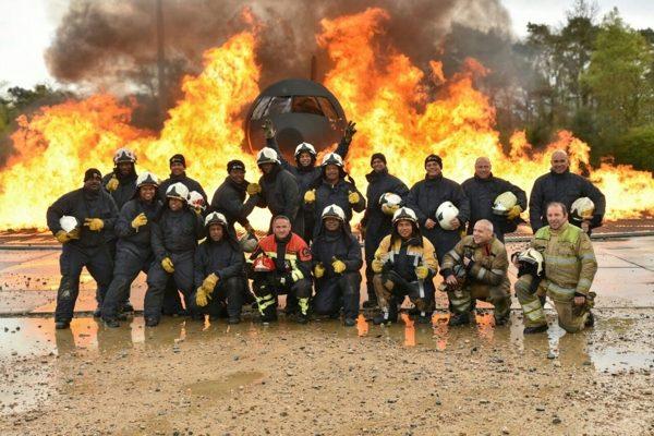 Bevelvoerders in opleiding BKCN trainen in Europa
