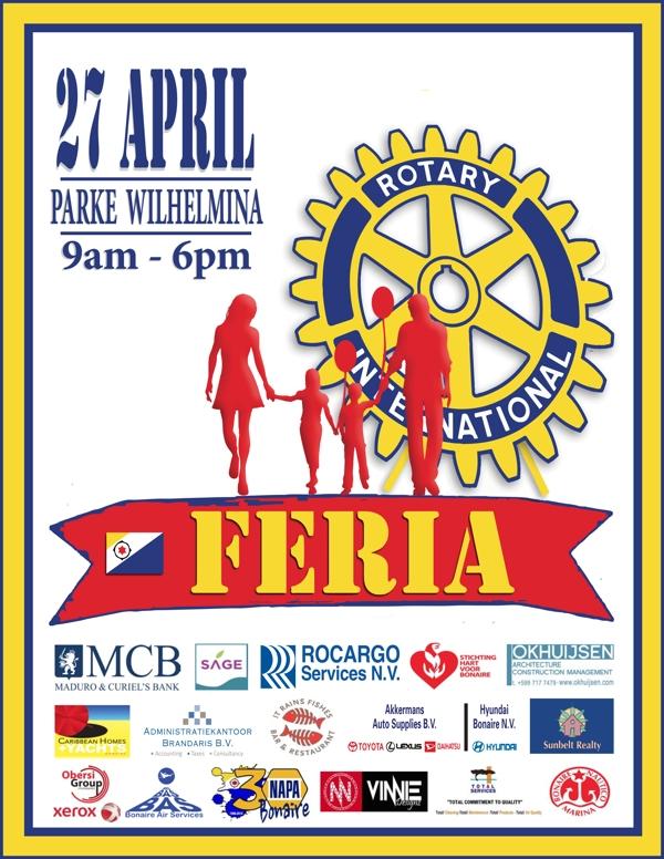 Markt goede doel Rotary Club in Wilhelminapark