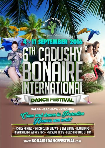 Bonaire Dance Festival 2016 @ Diverse plaatsen op het eiland, zie website | Kralendijk | Bonaire | Caribisch Nederland