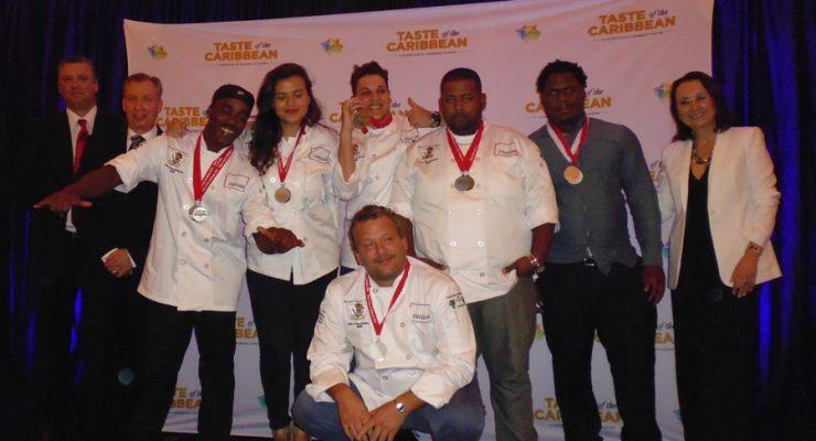 8 Medailles voor het Bonaire Culinary Team 2016