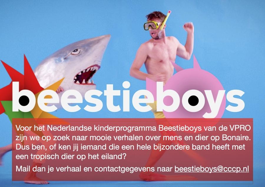 Oproep van Nederlands kinderprogramma Beestyboys