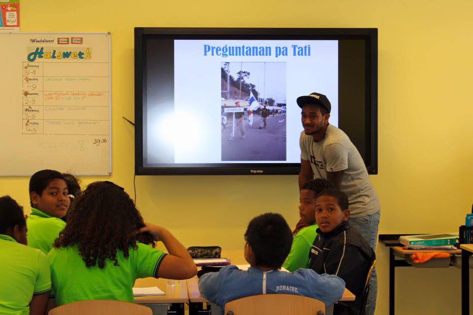 Tati Frans op School