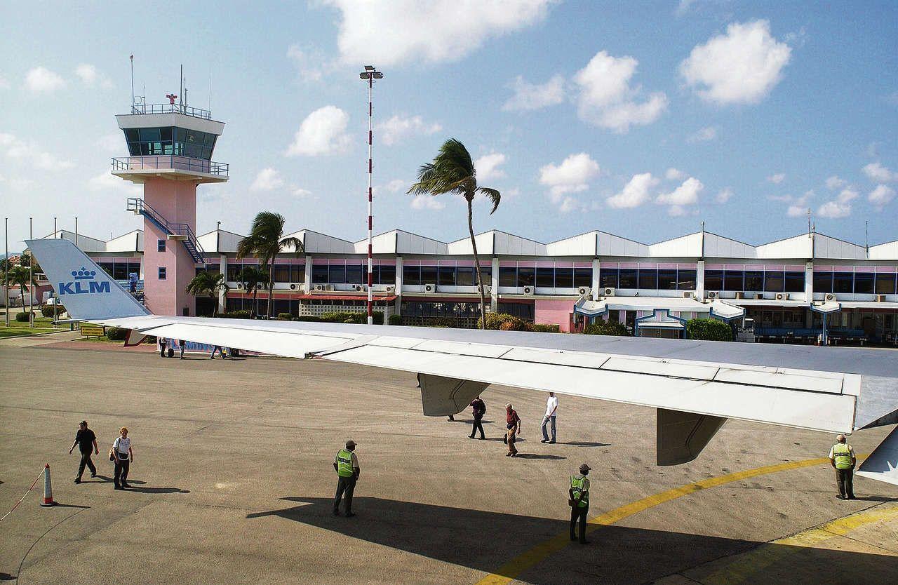 KLM op Bonaire
