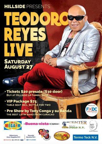 Teodoro Reyes in Concert @ Hillside Apartments Bonaire | Kralendijk | Bonaire | Caribisch Nederland