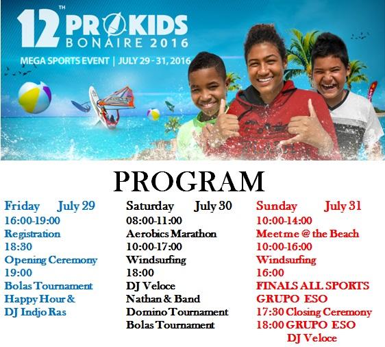 Prokids Program 2016