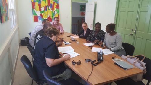 Foto-ondertekening arbeidsvoorwaardenovereenkomst-Saba