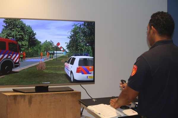 Virtual reality brandweer