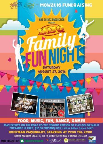 Family Fun Night @ Parkeerplaats Kooyman   Kralendijk   Bonaire   Caribisch Nederland