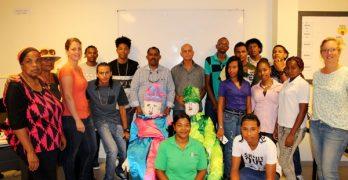 Maskaradaproject bij Forma en Jong Bonaire van start gegaan