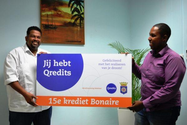 Mijlpaal voor Microfinanciering Bonaire: 10e en 15e Microkrediet verstrekt aan ondernemers