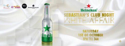 Sebastian's Club Night ; White Affair @ Sebastian's Restaurant | Kralendijk | Bonaire | Caribisch Nederland