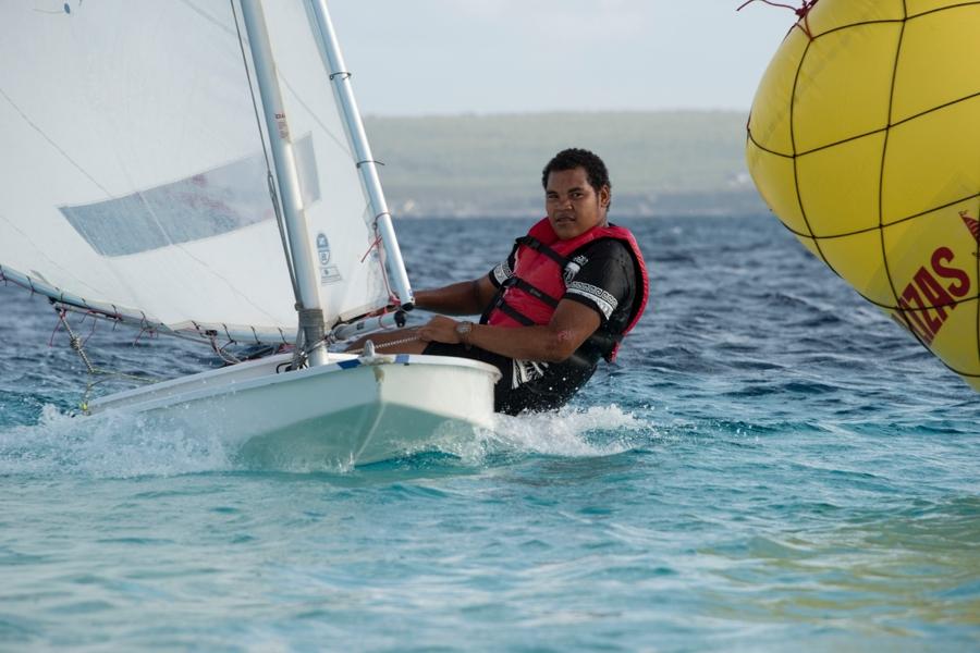 Sunfish Team Bonaire zeilt naar Curacao