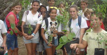 Groot onderhoud natuur Bonaire