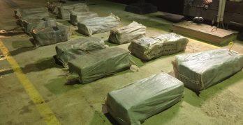 Grote drugsvangst door de kustwacht