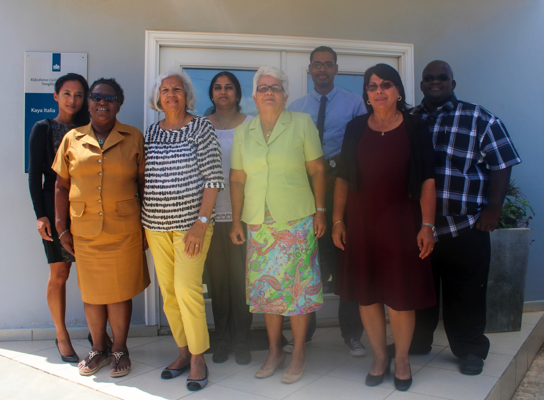 Celia Fernandes Pedra neemt afscheid van het bestuur van de Voogdijraad BES