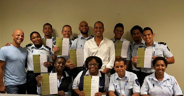 Medewerkers JICN geslaagd voor de basis beroeps opleiding Bewaarder