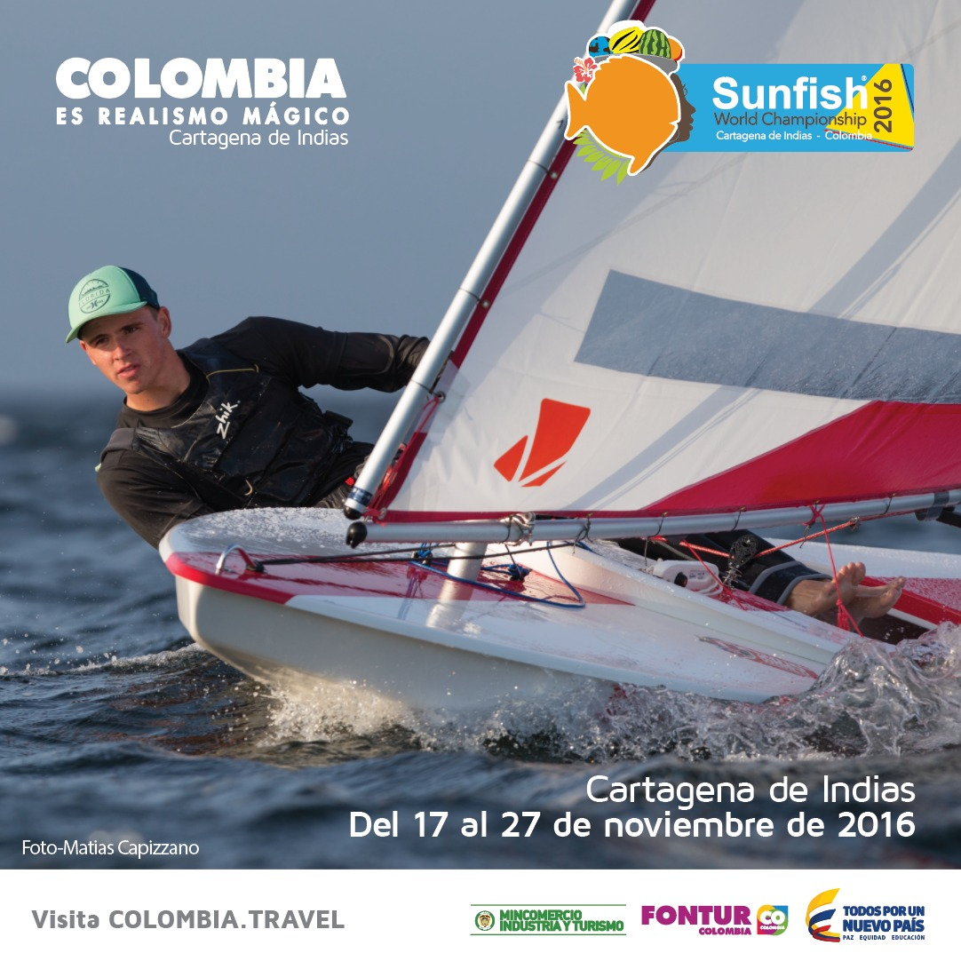 Sunfish World Championship 2016 in Cartagena
