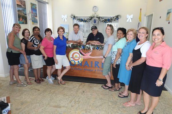 Bonaire verwelkomt top New Jersey reisagenten