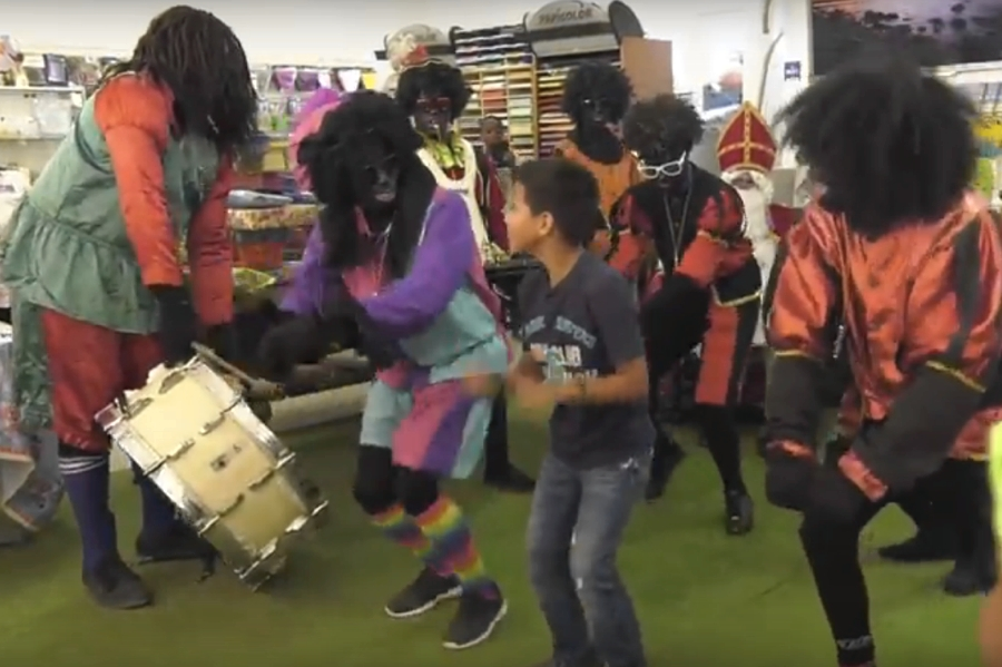 Video Sinterklaasfeest op Bonaire