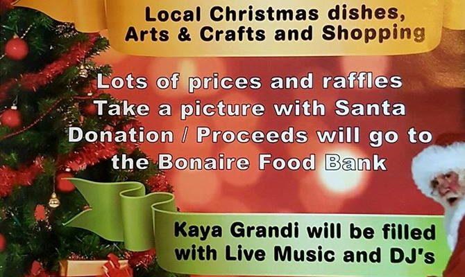 Kerstkoopavond 17 december in het Wilhelminapark en de Kaya Grandi