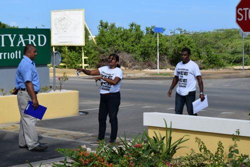 Protestgroep zorgvuldig weggehouden bij armoede-summit