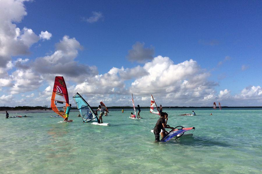 Bekend sportmerk O'Neill gaat Bonaire promoten