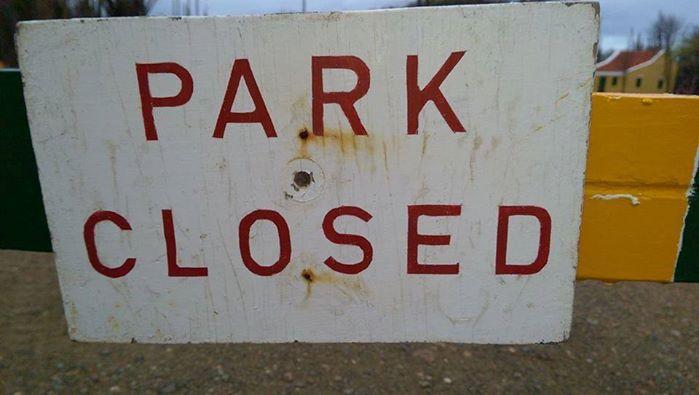 Het Washington Park is gesloten voor alle verkeer op 9 februari.