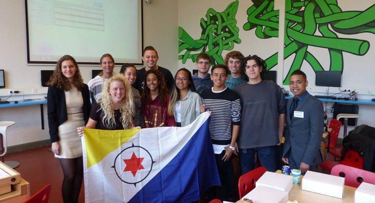 Aankomend studenten hebben Nederland bezocht