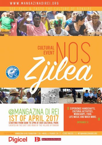 Cultural event 'Nos Zjilea' @ Mangazina di Rei
