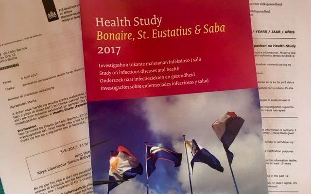 Health Study Bonaire, St. Eustatius & Saba 2017