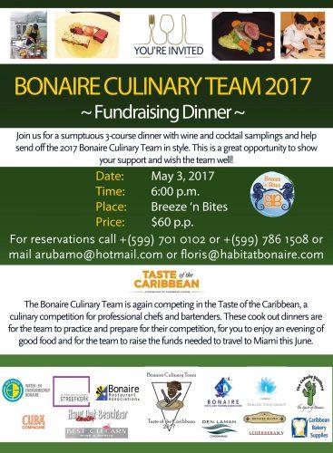 Fundraising Dinner Culinary Team @ Breeze 'n Bites | Kralendijk | Bonaire | Caribisch Nederland