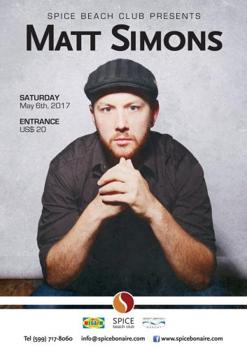 Matt Simons Live ! @ Spice Beach Club