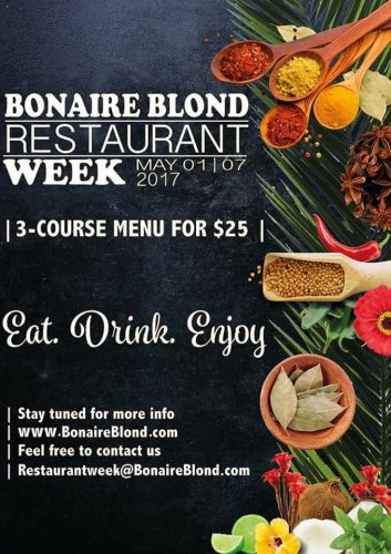 Bonaire Blond Restaurant week @ Diverse restaurants